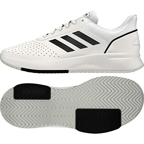 Adidas COURTSMASH, Zapatillas de Tenis Hombre, Blanco (Ftwbla/Negbás/Gridos 000), 41 1/3 EU