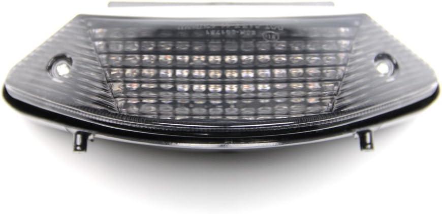 Artudatech Fanale posteriore a LED per moto con indicatori di direzione per H-O-N-D-A CB600 HORNET CB900 HORNET 599 919 2002-2007