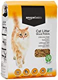 AmazonBasics Cat Litter Wood Pellets, 30L