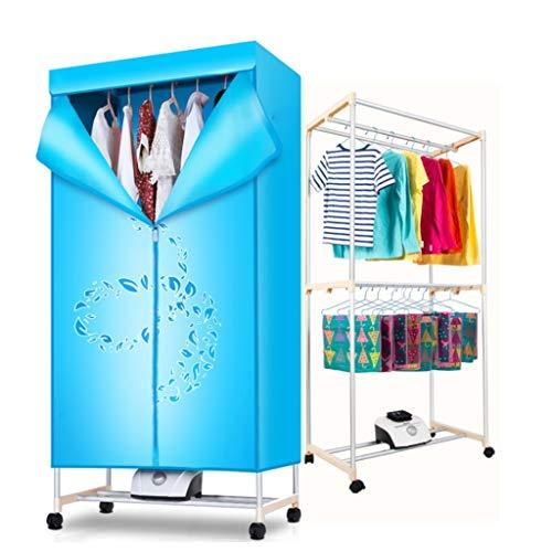 Dryer-BAI Haushaltstrockner 360 ° Hochtemperaturzirkulation Heizungszeitpunkt Trocknung Große Kapazität Trockenklosett-1000W