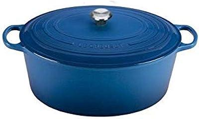 Le Creuset Enameled Cast Iron Signature Oval Dutch Oven, 15.5 qt., Marseille