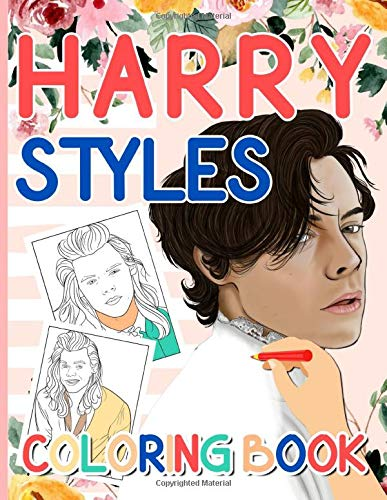 Harry Styles Coloring Book: Color Wonder Creativity Adult Coloring Books (Activity Book Series)