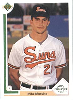 1991 Upper Deck # 65 Mike Mussina (RC - Rookie Card) Baltimore Orioles - MLB Baseball Trading Card