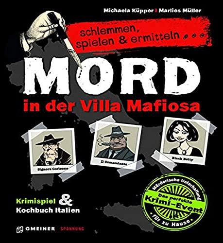 Unbekannt Gmeiner Verlag 581581 Krimikartenspiel inklusive Kochbuch, Silver