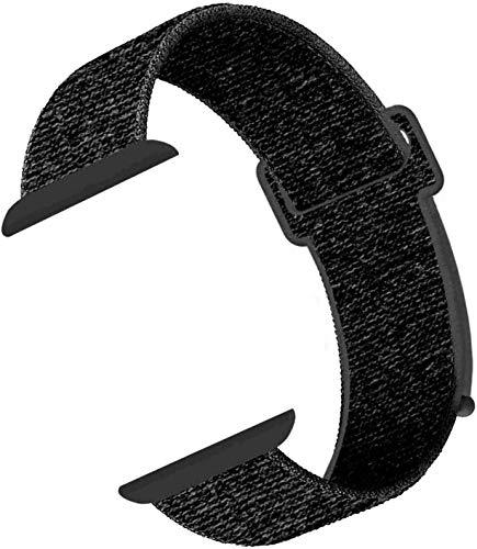 CosyZanx für Apple Watch Armband 38mm 40mm 42mm 44mm,Gewobenes Nylon Sport Schlaufe Handgelenk Uhrband Ersatz Armreif Uhrenarmband für iWatch Apple Watch Series 4 3 2 1