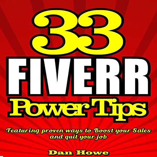 33 Fiverr Power Tips audiobook cover art