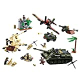 12che ww2 Accessoires d'armes Tank Avion Militaire Minifigures pour Enfants - Bataille de Koursk
