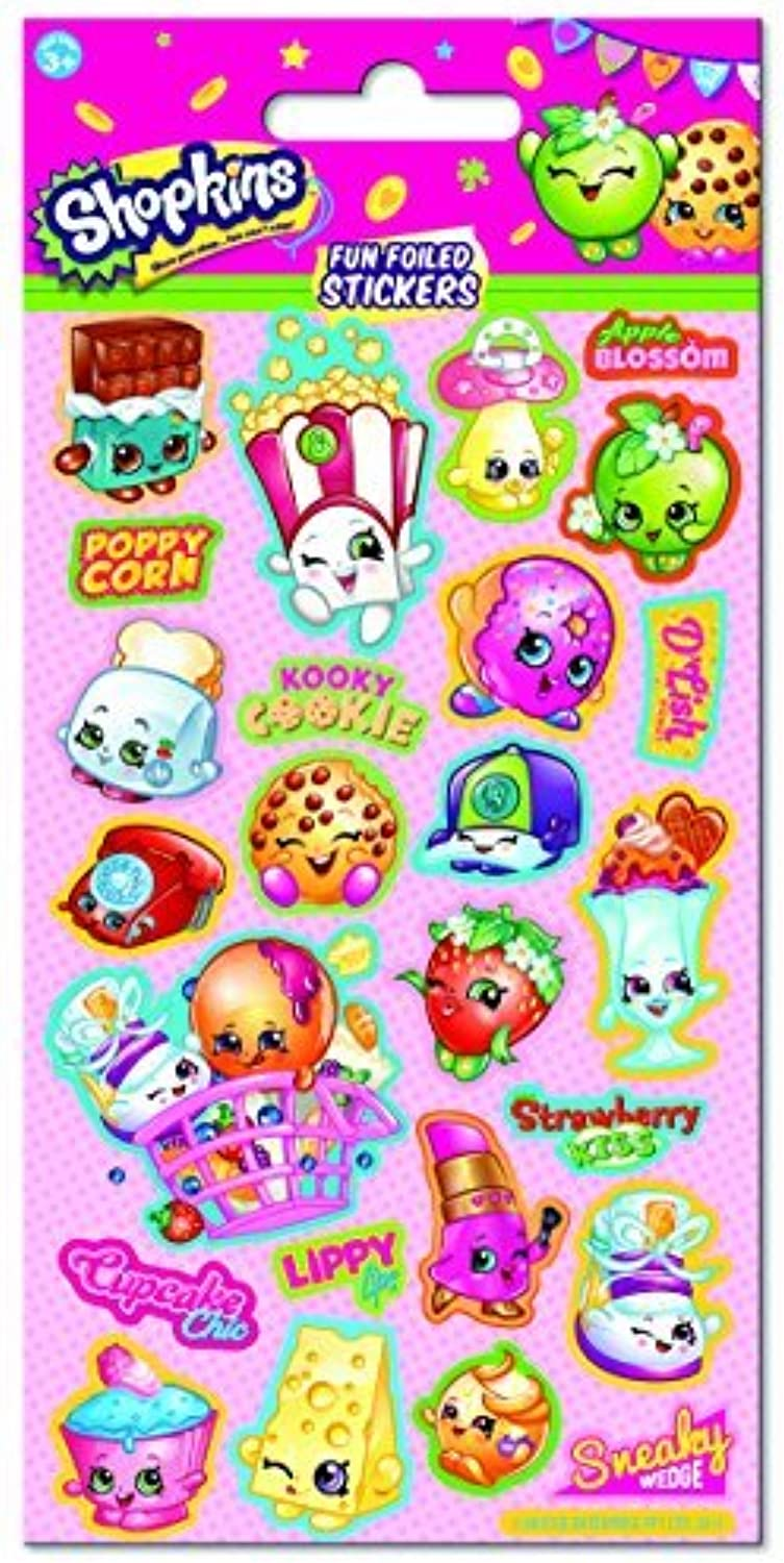 Paper Projects Shopkins Foiled Stickers by Paper Projects