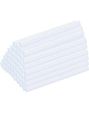 WORKPRO 200 Piezas Pegamento Termofusible Recambio Barras de Cola Termofusible /Ø 7 x 100mm Barras de pegamento caliente Palos de Pegamento Transparente