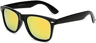SGJFZD Men's Sports Polarized Sunglasses Mens UV400 Outdoor Riding Glasses Windshield Sunglasses (Color : Yellow)