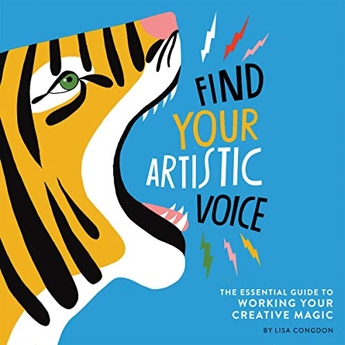 Find Your Artistic Voice audiobook cover art