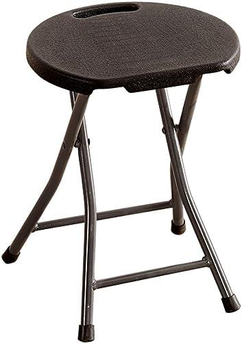 Tabourets Chaise pliante simple tabouret pliant adulte ménage portable en plastique épais selles (Couleur   A)