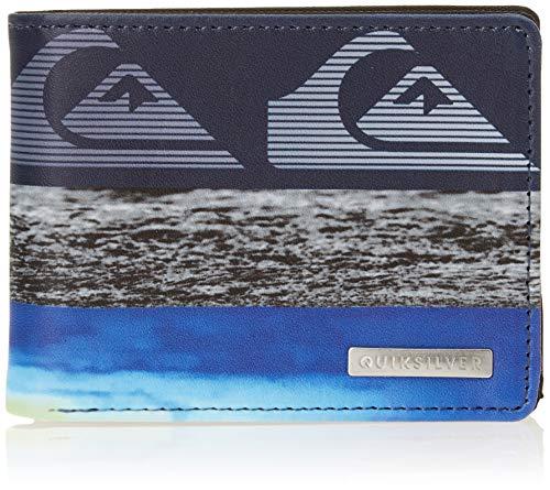 Quiksilver Freshness M-Wallets for Men, Travel Accessory - Monedero para Hombre, Azul Marino, Medium