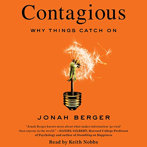 Contagious Audiobook By Jonah Berger cover art