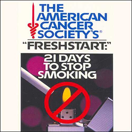 21 Days to Stop Smoking     American Cancer Society              By:                                                                                                                                 American Cancer Society                           Length: 1 hr and 19 mins     4 ratings     Overall 3.0