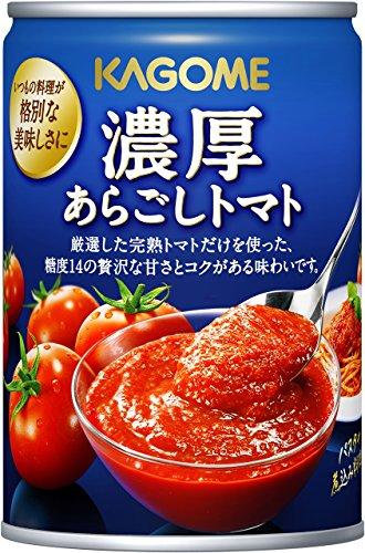 カゴメ 濃厚あらごしトマト 295g×6個