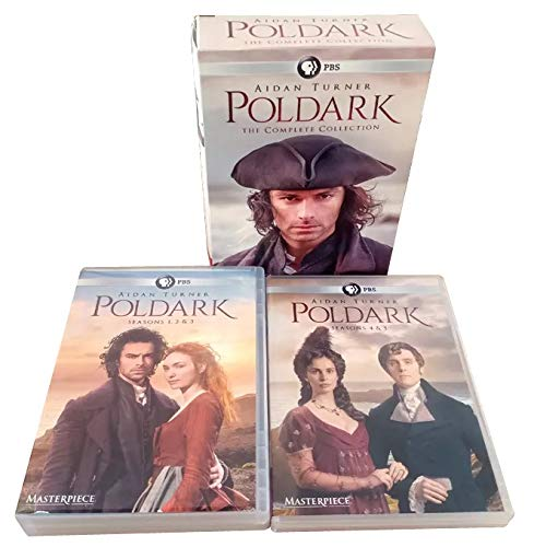 Poldark The Complete Series Seasons 1-5 DVD Box Set 15 Disc, New Sealed