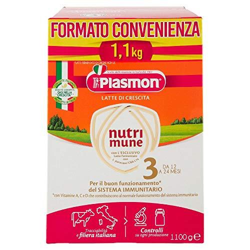 Plasmon Nutri-Mune Latte 3 Crescita Polvere 1100g