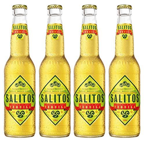 Salitos - Tequila Bier 5,9% Vol. - 4x0,33l inkl. Pfand