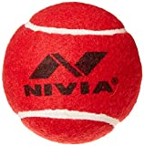 NIVIA Heavy Red Cricket Tennis Hard Ball