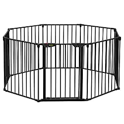 Dog barriers for yard