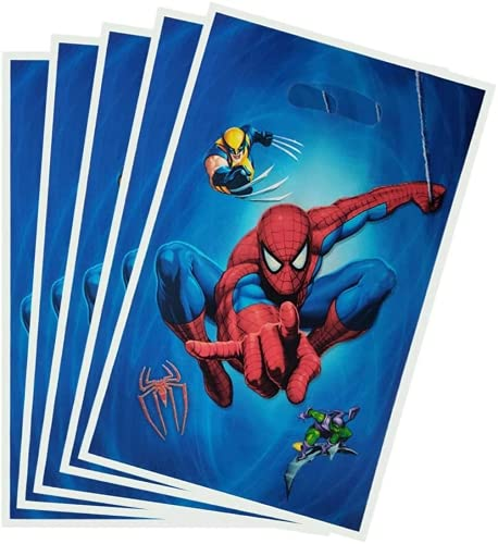 Spiderman Gift Bags Spiderman Themed Party Decoration 30pc Birthday Party...