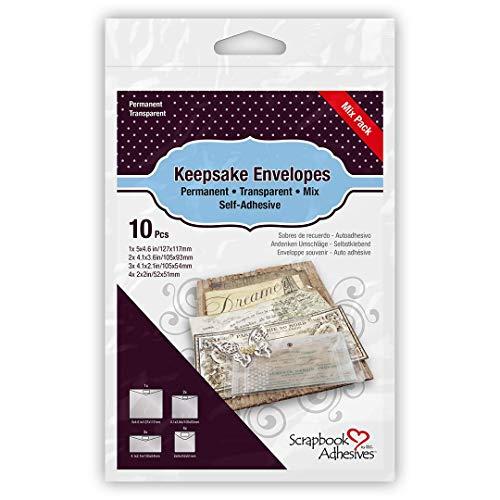 Scrapbook Adhesives by 3L 3L Scrapbook Adhesives, Keepsake Envelopes