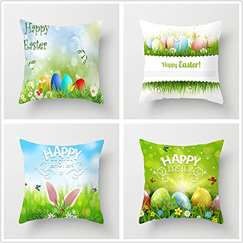 Pillow Case Cushion Cover, Farfalla Blu 4 Pieces Pillow Case, Throw Pillow Covers, Home Decoration Pillow Case, Super Soft Sofa Cushion, for Living Room Sofa Bed Auto 60x60cm(24x24in)
