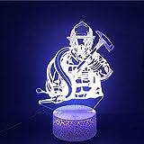 Bombero básico chica hermoso regalo brillante básico gran oferta luz de noche LED decoración USB niños atmósfera