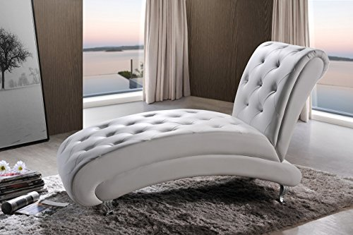 Baxton-Studio-Pease-Contemporary-Faux-Leather-Upholstered-Crystal-Button-Tufted-Chaise-Lounge-White