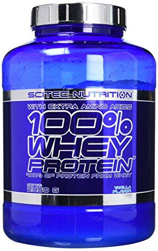 Scitec Nutrition 100% Whey Protein Powder - 2350 g, Vanilla
