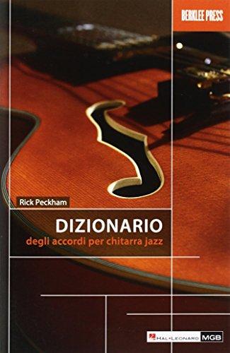 Dizionario degli accordi per chitarra jazz