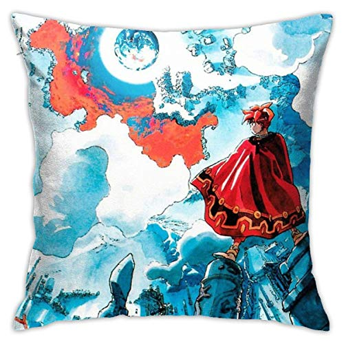 N/A Terranigma Cushion Throw Pillow Cover Decorative Pillow Case for Sofa Bedroom 18 X 18 inch