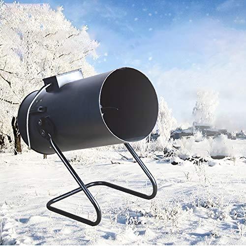 2000W Schneemaschine, Tragbare Party Schneemaschine mit Controller, Outdoor Schneemaschine für Bühneneffekte, Weihnachten, Hochzeit, Produziert die Illusion von echtem Schnee