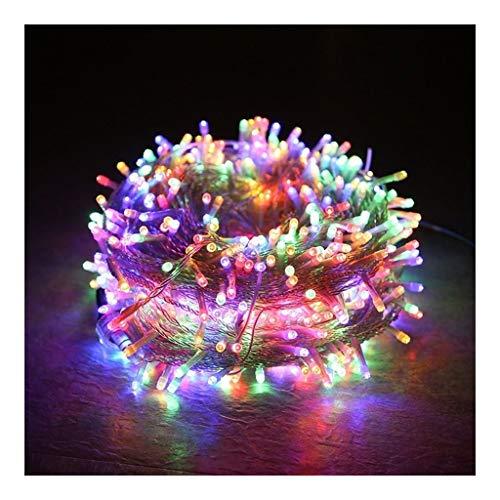 YUO Led-lichtsnoer, decoratieve verlichting voor binnenruimtes, slaapkamer, terras, tuin buiten, kinderwagen, decoratie voor bomen