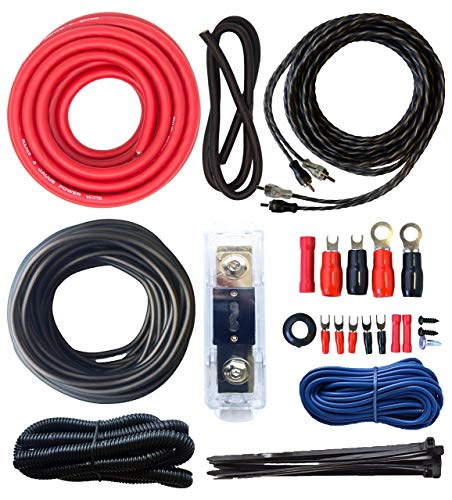 0 gage wire amp kit - 9