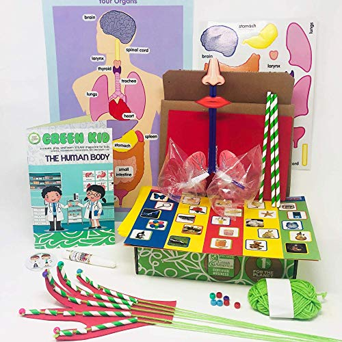 craft subscription boxes Green Kid Crafts - Monthly STEAM Subscription: Discovery Box