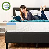 Best Choice Products 10in Twin Size Dual Layered Gel Memory Foam Mattress w/CertiPUR-US Certified Foam