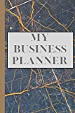 Business Planner: Easy-To-Use Small Business Planner with Weekly Diary, Social Media Goals, Financial Diary & Goals and Inventory: Organisational ... - Business Stationary, Cute Business Planner