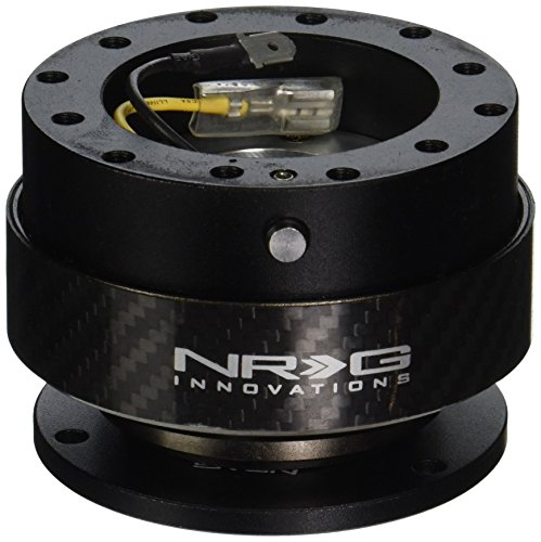 NRG Innovations SRK-200CF Quick Release (Black Body/Black Carbon Fiber Ring)