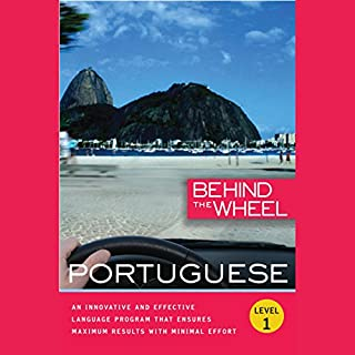 Behind the Wheel - Portuguese audiobook cover art