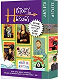 A fun, family card game to entertain and educate all ages about amazing artists in history Guess the famous artist in history to win the card...or learn about them first! A great quiz game for all ages and stages to play together Choose your level of...