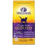 Wellness Complete Health Grain-Free Indoor Healthy Weight Chicken Recipe Dry Cat Food, 2.25 Pound Bag