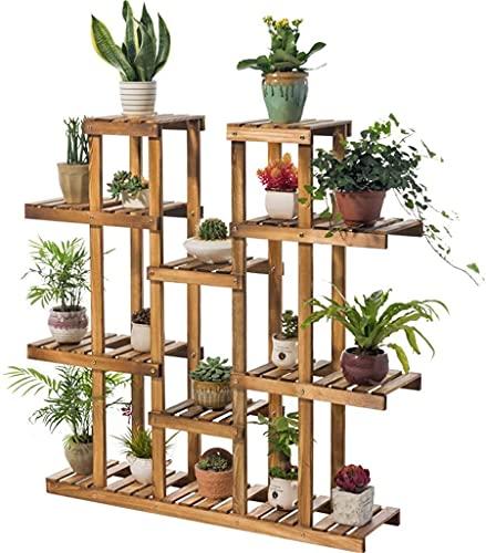 Pflanzenständerhalter aus Holz für den...