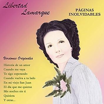 Páginas Inolvidables - Versiones Originales