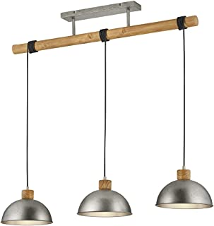 Trio Lighting Delhi lámpara colgante, 42 W, Níquel