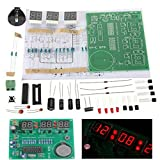 Tiamu AT89C2051 6 Pantalla LED Digital Reloj ElectróNico DIY Kit Receptor para Flujo