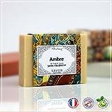 Ambre - Sapone Ambra e argilla gialla, 100 g, fabbricazione francese, senza coloranti