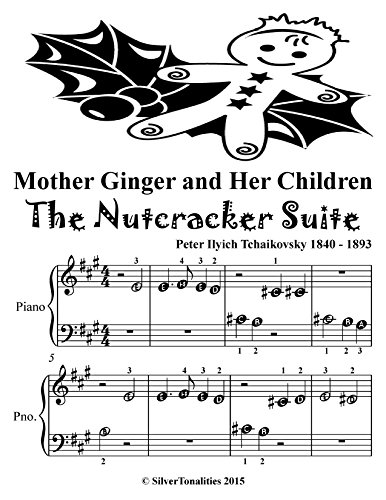 Mother Ginger and Her Children Nutcracker Suite Beginner Piano Sheet Musid Tadpole Edition (English Edition)
