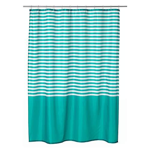 IKEA.. 203.490.61 Vadsjön Shower Curtain, Turquoise